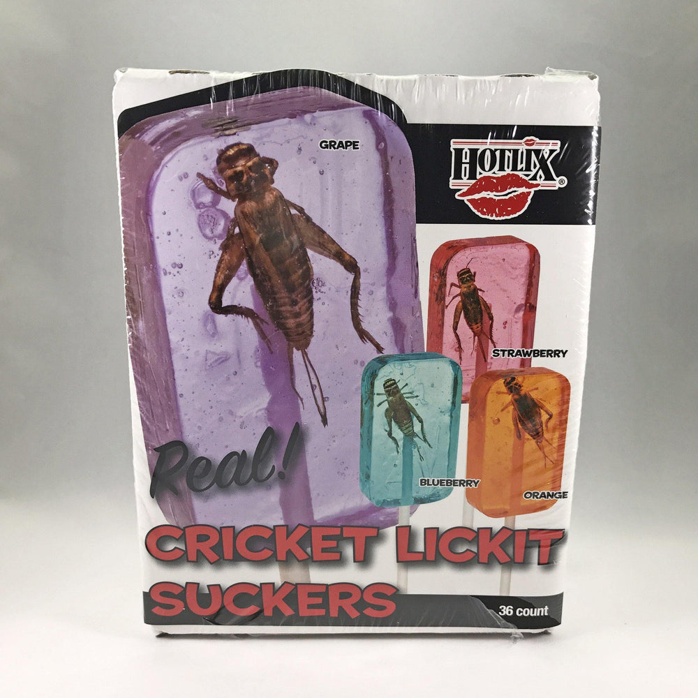 Cricket Lick-It Lollipops - Desert Gatherings