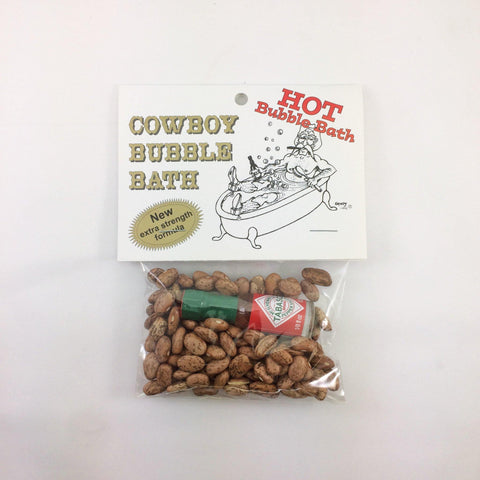 Cowboy Bubble Bath Hot
