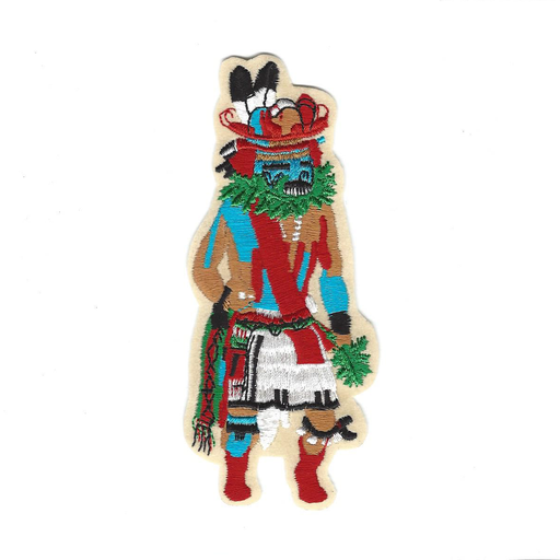 Tumoala Devils Claw Sew-On Kachina Patch