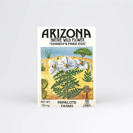 Arizona Cowboy Fried Egg Seed Packet - Desert Gatherings