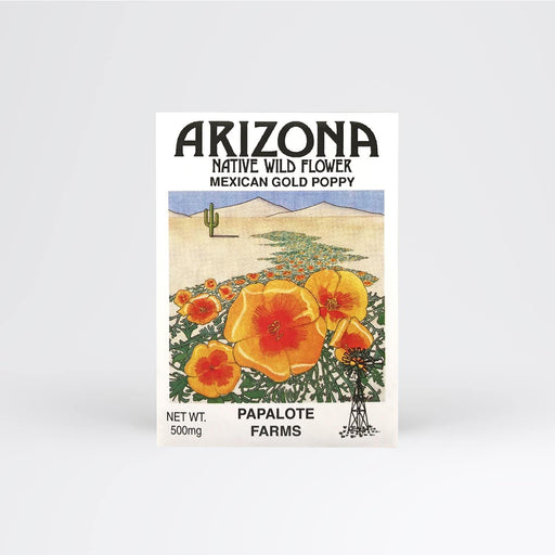 Arizona Mexican Gold Poppy Seed Packet - Desert Gatherings