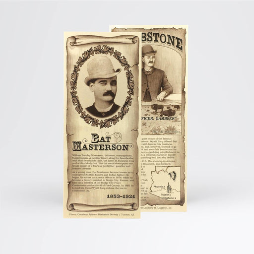 Bat Masterson Bookmark - Desert Gatherings