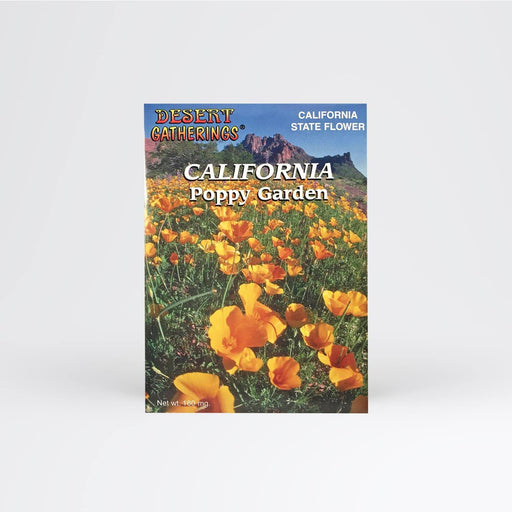 California Poppy Garden Seed Packet - Desert Gatherings