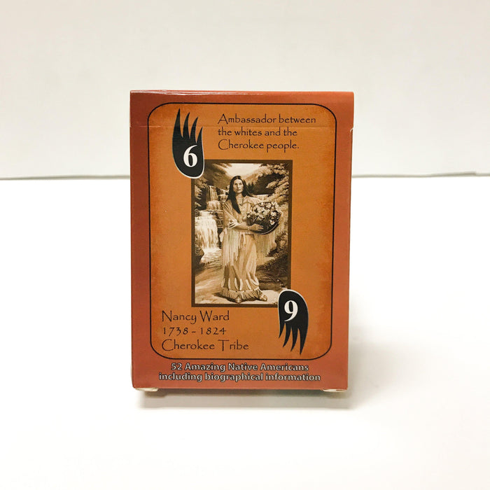 Famous Native Americans Playing Cards - Desert Gatherings