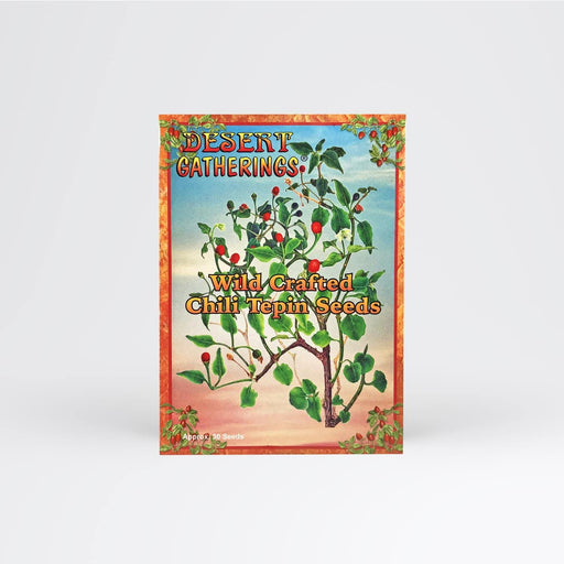 Chili Tepin Seed Packet - Desert Gatherings