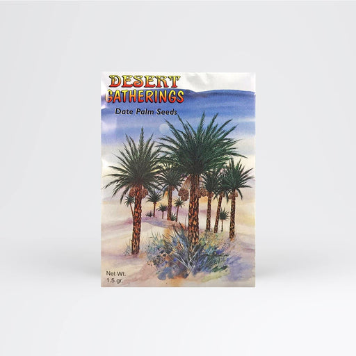 Date Palm Tree Seed Packet - Desert Gatherings