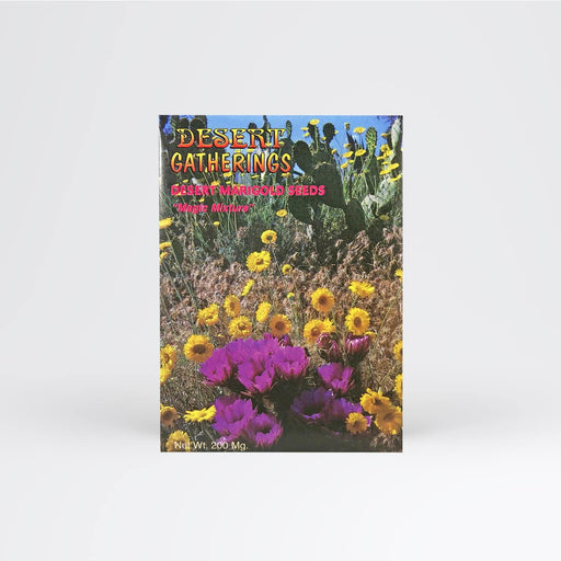 Desert Marigold Seed Packet - Desert Gatherings