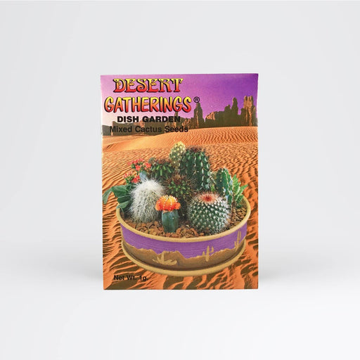 Mixed Cactus Dish Garden Seed Packet - Desert Gatherings