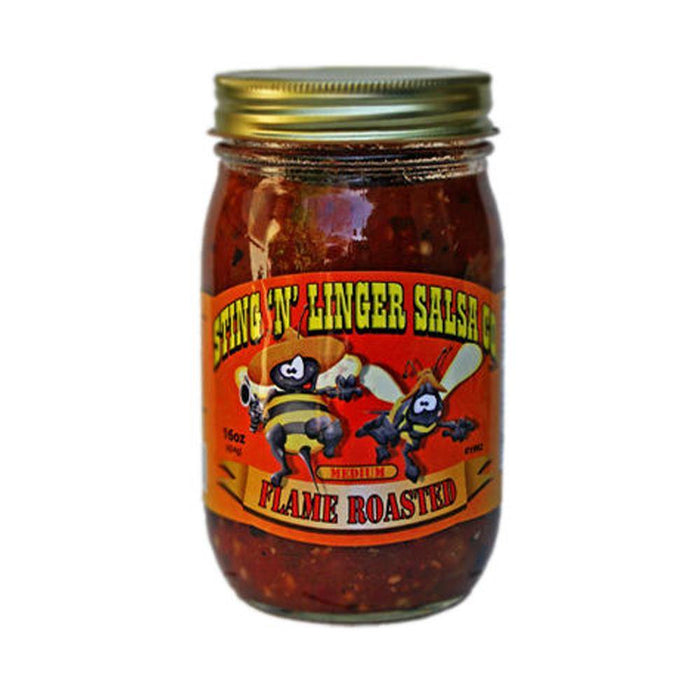 Flame Roasted Salsa 16oz - Desert Gatherings