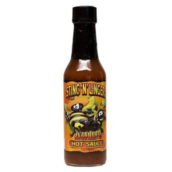 Habanero Hot Sauce 5oz - Desert Gatherings