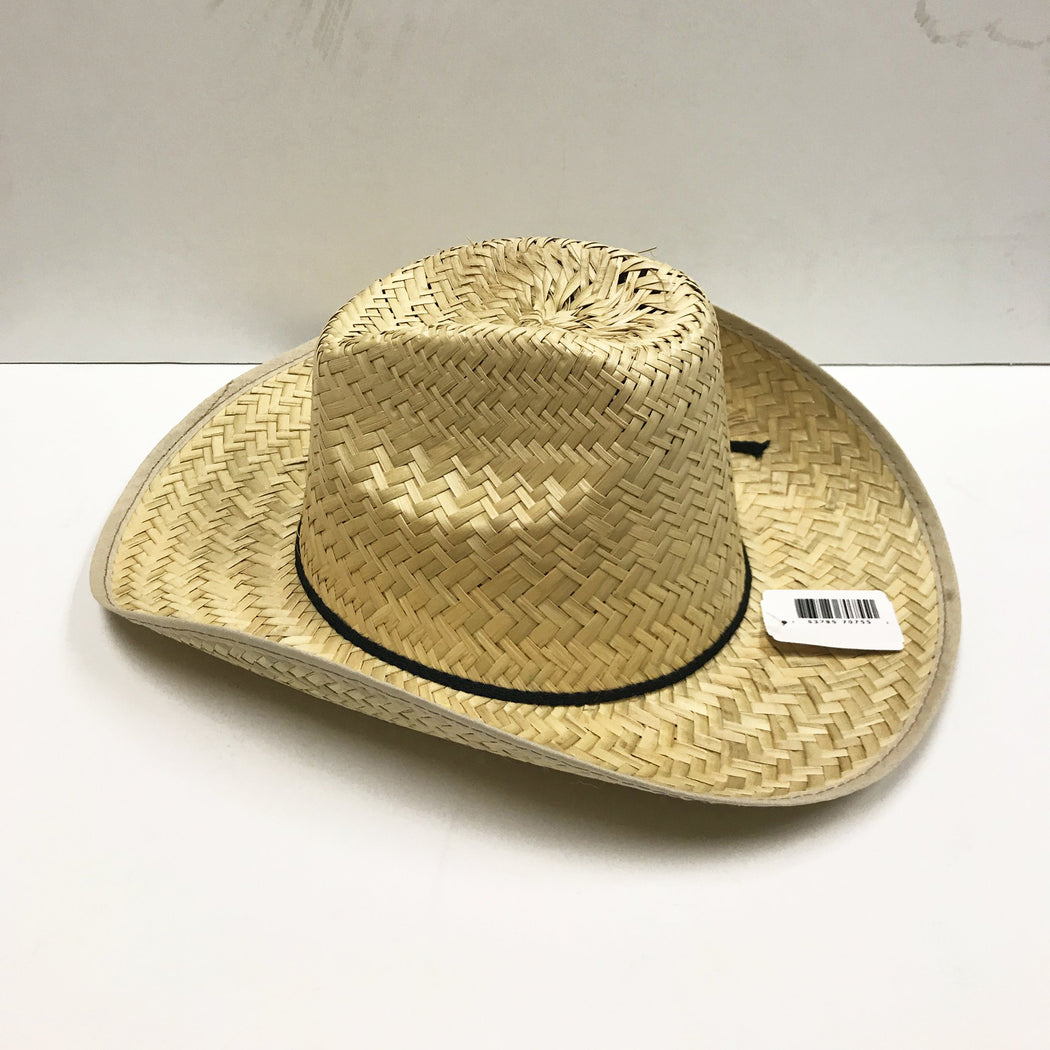 Texas High Crown Straw Cowboy Hat