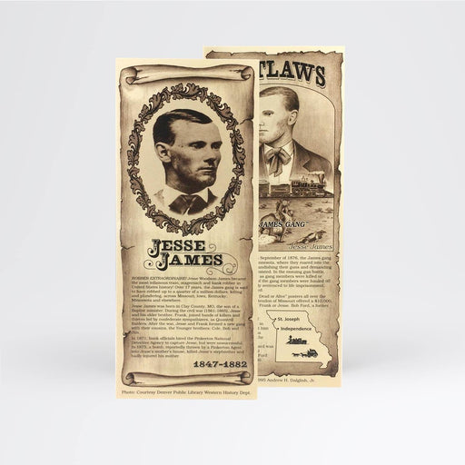 Jesse James Bookmark - Desert Gatherings