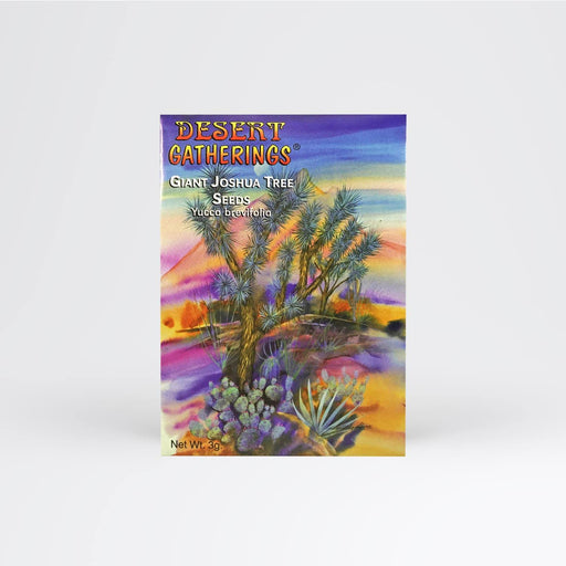 Joshua Tree Seed Packet - Desert Gatherings