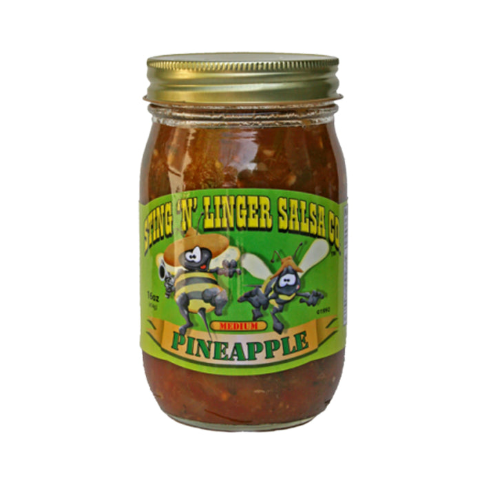 Pineapple Salsa 16oz - Desert Gatherings