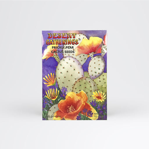 Prickly Pear Seed Packet - Desert Gatherings