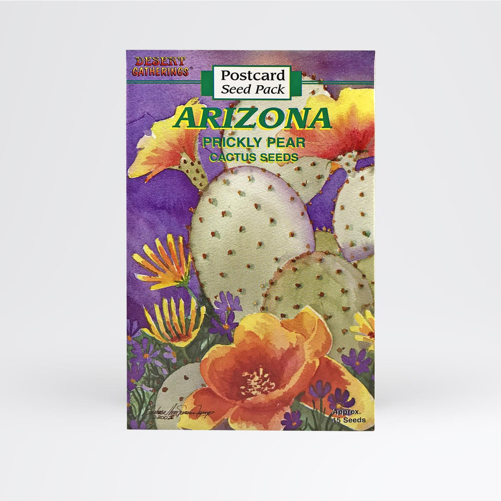 Prickly Pear Postcard - Desert Gatherings