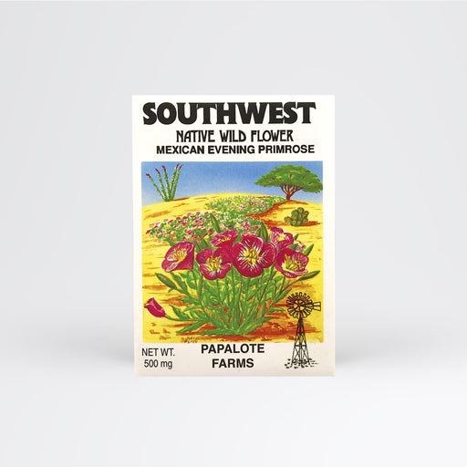 Southwest Mexican Evening Primrose Seed Packet - Desert Gatherings
