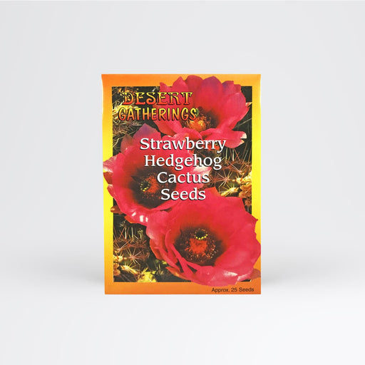 Strawberry Hedgehog Cactus Seed Packet - Desert Gatherings