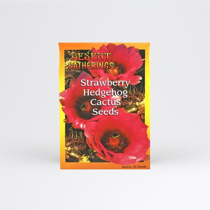 Strawberry Hedgehog Cactus Seed Packet