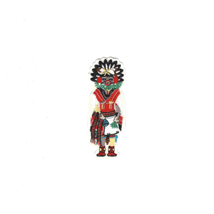 Morning Singer Sew-On Kachina Patch Small - Desert Gatherings