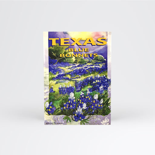 Texas Blue Bonnet Seed Packet - Desert Gatherings