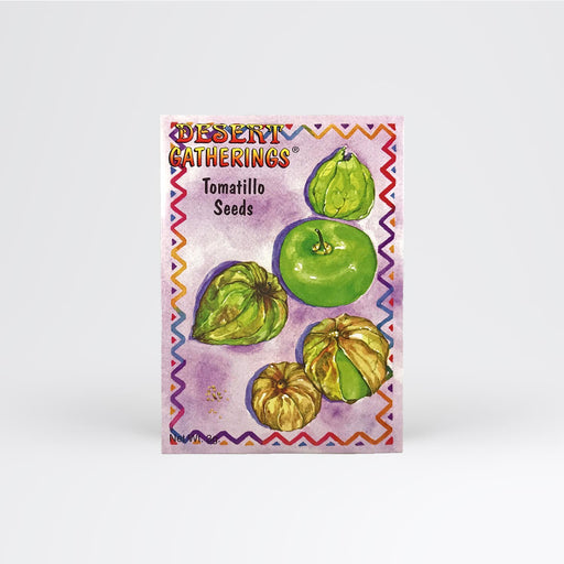 Tomatillo Seed Packet