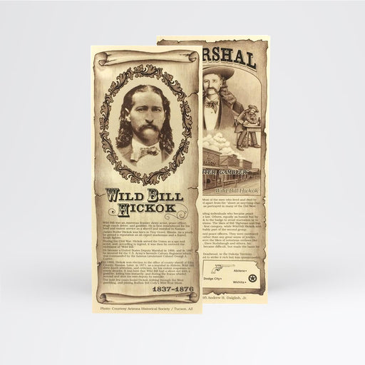 Wild Bill Hickok Bookmark - Desert Gatherings