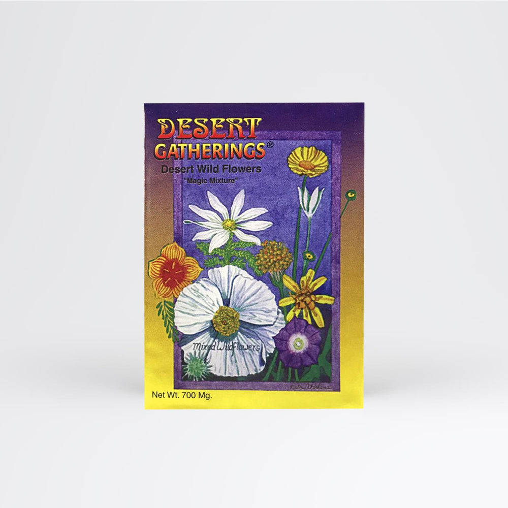 Mixed Wildflowers Seed Packet - Desert Gatherings