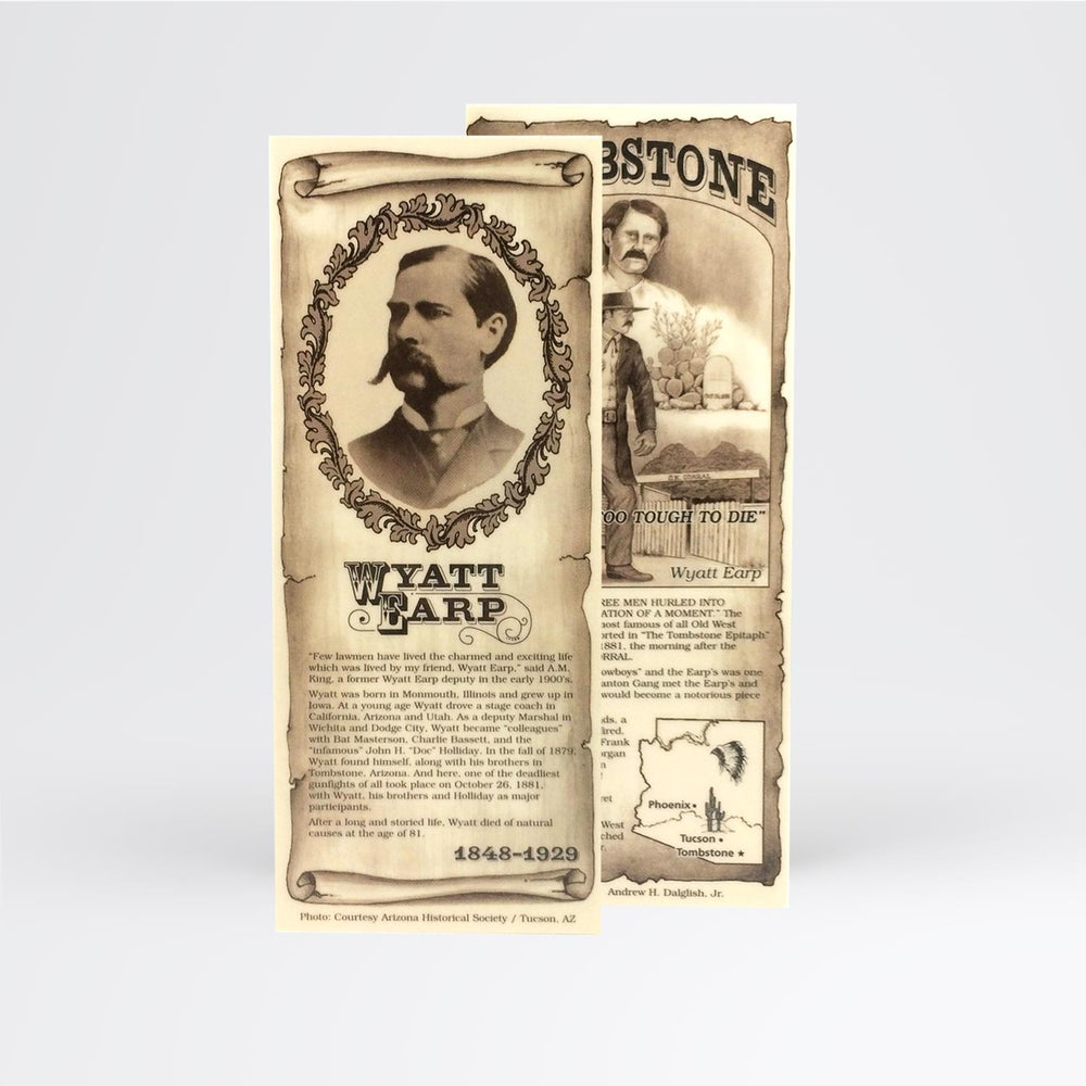 Wyatt Earp Bookmark - Desert Gatherings