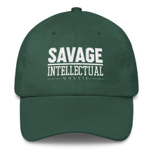 Savage Intellectual Classic Dad Cap