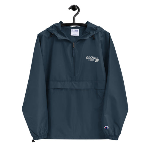 GTHU Embroidered Champion Packable Jacket
