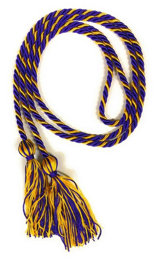 Purple/Gold Graduation Honor Cords