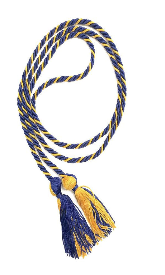 Royal Blue/Gold Graduation Honor Cords
