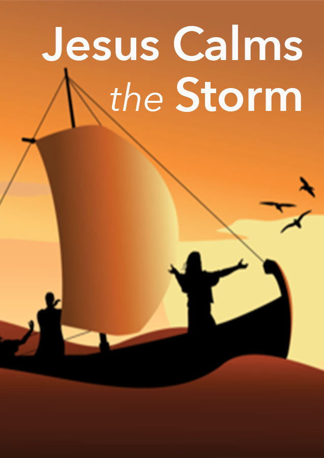 Jesus Calms the Storm (Digital Download)