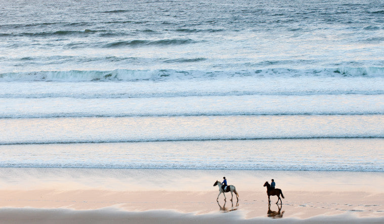 Getaway with Horseriding on the Beach