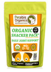Petabis Organics CBD Joint Snacker Pack CBD JOINT SNACKER PACK for dogs