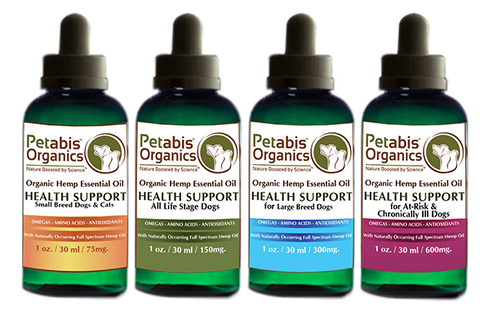 Petabis Organics PCR Hemp Oil for Dogs Petabis Organics PCR Hemp Oil for Cats