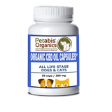 CBD HEMP OIL CAPSULES 300 MG. ACTIVE CBD 30 PIECES 10 MG PER CAP* ORGANIC ACTIVE CBD OIL CAPSULES FOR DOGS & CATS*