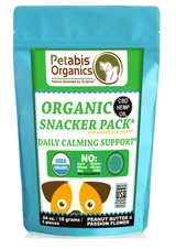 CBD CALM 1.5 MG SNACK PACK* 4 PIECE CBD DAILY CALM SUPPORT