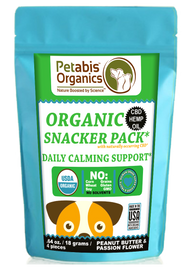 CBD CALMING SNACKER PACK - 4 PIECE DAILY CALMING SUPPORT 1.5 mg.* 4 PIECE TRAVEL SIZE CBD SNACKER PACK*