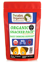 CBD IMMUNE SNACK PACK 4 PIECE DAILY IMMUNE SUPPORT 1.5 mg.* 4 PIECE TRAVEL SIZE CBD SNACK PACK*