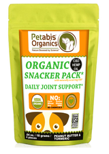 CBD JOINT SNACKER PACK - 4 PIECE DAILY JOINT SUPPORT 1.5 mg.* 4 PIECE TRAVEL SIZE CBD SNACKER PACK*