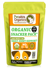 CBD JOINT LARGE BREED SNACK PACK - 4 PIECE DAILY JOINT SUPPORT 5 mg* 4 PIECE TRAVEL SIZE CBD SNACK PACK*