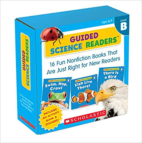 Guided Science Readers (Level B) for Mrs. Larrea