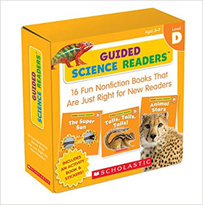 Guided Science Readers (Level D) for Mrs. Larrea