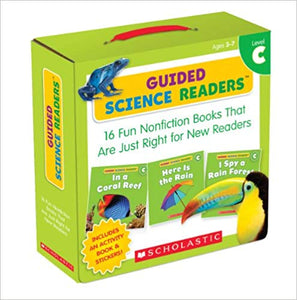 Guided Science Readers (Level C) for Mrs. Larrea