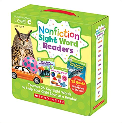 NonFiction Sight Words (Level C)