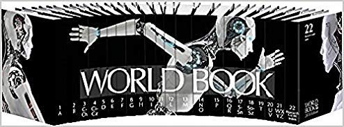 World Book Encyclopedia Set for Mrs. Westhead