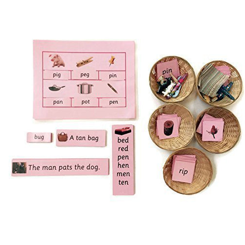 Pink Series Phonics Kit for Mrs Lamb's Class