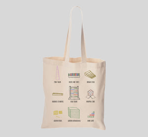 'Montessori Materials' Canvas Tote Bag